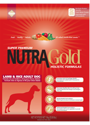 NUTRA GOLD Lamb & Rice Adult Dog 2x15kg