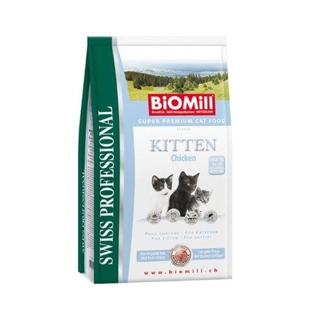 BIOMILL Swiss Professional Kitten Chicken & Rice 1,5kg