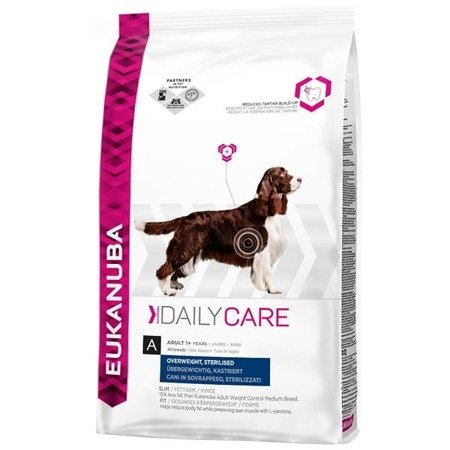 EUKANUBA Daily Care Overweight, Sterilized 2,5kg