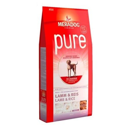 MERA DOG High Premium Pure Lamb & Rice 4kg
